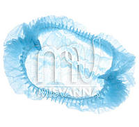 Шапочка одноразовая, голубая