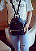Рюкзак женский мини кожзам Samantha Черный, фото 2