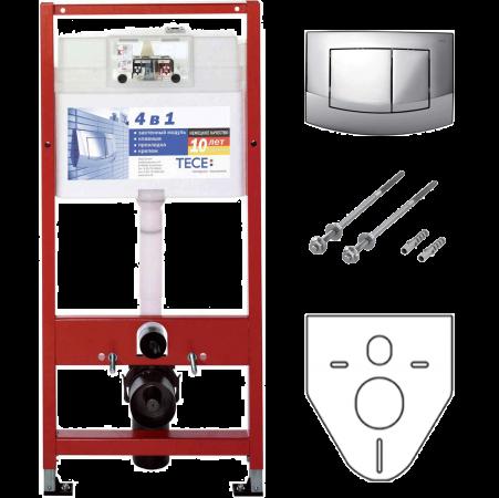 TECE Инсталляция для Унитазов Tece Base Kit 4в1 9400005