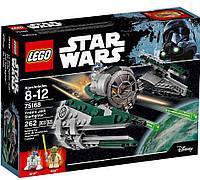 Конструктор LEGO Star Wars  Лего звездные войны истребитель Йоды Yoda's Jedi Starfighter 75168