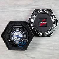 Спортивные черные часы casio g-shock, часы мужские касио