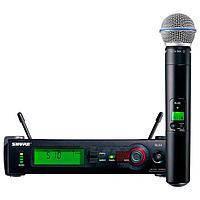 Радиомикрофон микрофон SHURE SLX24/Beta58 БАЗА UHF