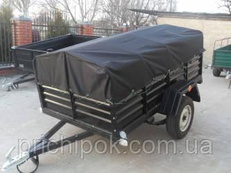 Тент на легковой прицеп караван 2.2 * 1,3.Ткань пвх.