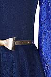 Платье с юбкой солнце-клеш и длинными рукавами для девочки 134-152р, фото 5