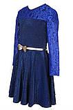 Платье с юбкой солнце-клеш и длинными рукавами для девочки 134-152р, фото 6