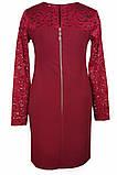 Нарядное платье из ткани двух видов для девочки 134-152р, фото 7