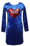 Шикарное платье из нежной ткани для девочки 134-158р, фото 3