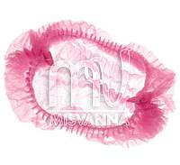 Шапочка одноразовая, розовая