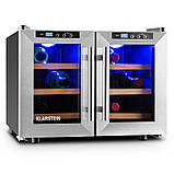 Винный холодильник  Klarstein на 40 л/ 12 бутылок + подставка для вина, фото 3