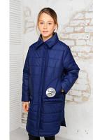 Модная куртка весна-осень Анфиса джинс