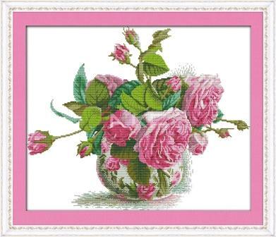Букет роз H314 Набор для вышивки крестом