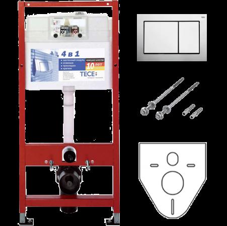TECE Инсталляция для Унитазов Tece Base Kit 4в1 9400006