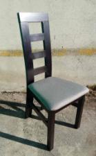 """Стул обеденный """"Бруно Т"""" (орех, венге, белый, бежевый) для гостинной Fusion Furniture"""