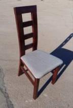 """Стул обеденный """"Бруно Т"""" (орех, венге, белый, бежевый) для гостинной Fusion Furniture, фото 2"""