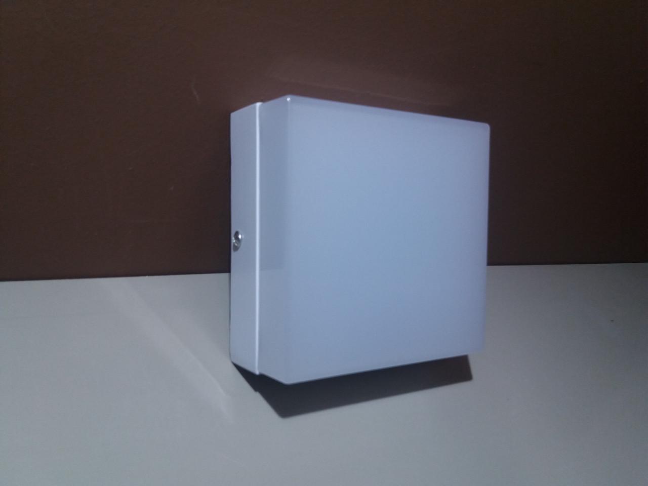 LED Светильник накладной 12вт квадратный