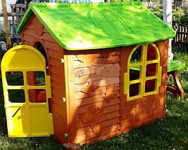 Детский домик со столиком и стульчиком Mochtoys, фото 3