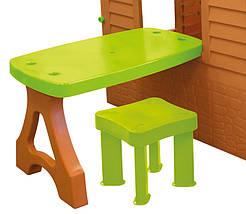 Дитячий будиночок зі столиком і стільчиком Mochtoys, фото 3