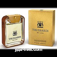 Мужская туалетная вода Trussardi My Land (свежий аромат для активных, популярных, уверенных в себе мужчин)
