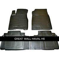 Коврики в салон Avto Gumm 11391 для Great Wall Haval H6