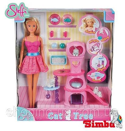 Кукольный набор Штеффи с домиком для котиков Simba 5730214, фото 2