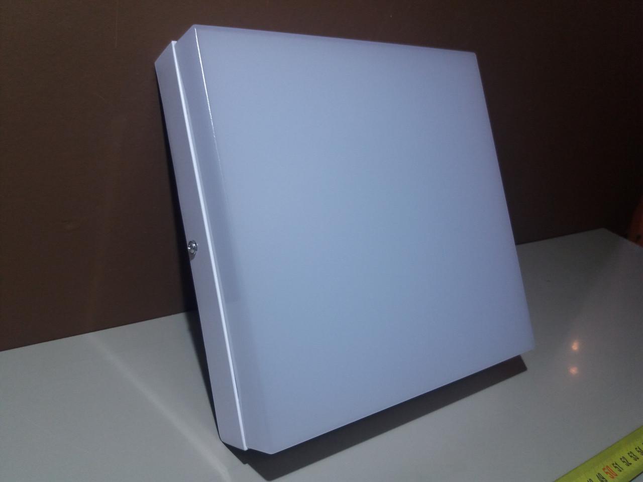 Лед Светильник накладной 18вт квадратный