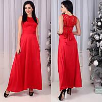 Платье (44,46) —  гипюр + шифоновая юбка купить оптом и в розницу в одессе  7км