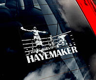 Девид Хей (Hayemaker) David Haye стикер