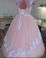 Детское платье  - Жемчуг, фото 2