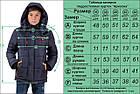 Подростковая куртка на мальчика Arizona_синяя, фото 6