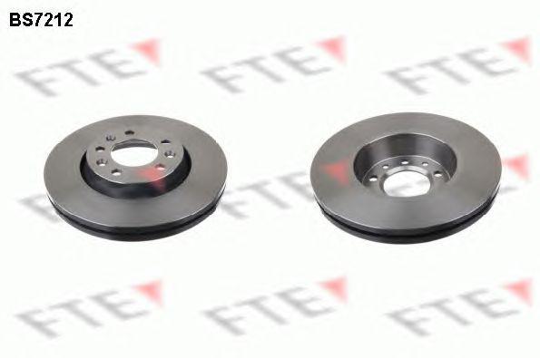 Диск тормозной (передний) Fiat Scudo 07- (280x28)