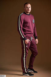 Спортивный костюм  мужской из двунитки