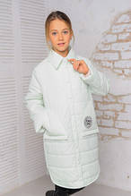 Модная куртка весна-осень Анфиса минт