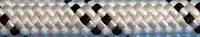 [100м] Верёвка статическая высокопрочная 12мм «Альпика» (класс А) белая 3290кг Валтекс