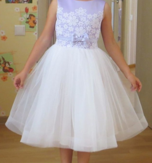 Детское платье  - Жемчуг