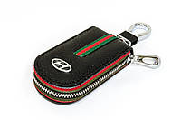 Ключница Carss с логотипом HYUNDAI 10007 черная