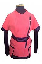 Женская осенняя кашемировая куртка арт. Либерти, фото 3