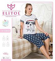 Женская пижама с бриджами Elitol