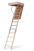 Чердачные лестницы ATRIUMA-100 (Standard) (деревянная, 100% бук)