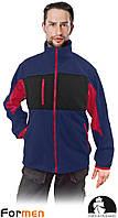Флисовая кофта рабочая Leber&Hollman Польша (флисовая рабочая одежда) LH-FMN-P GBC