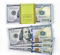 """Сувенирные деньги """"100 долларов"""""""