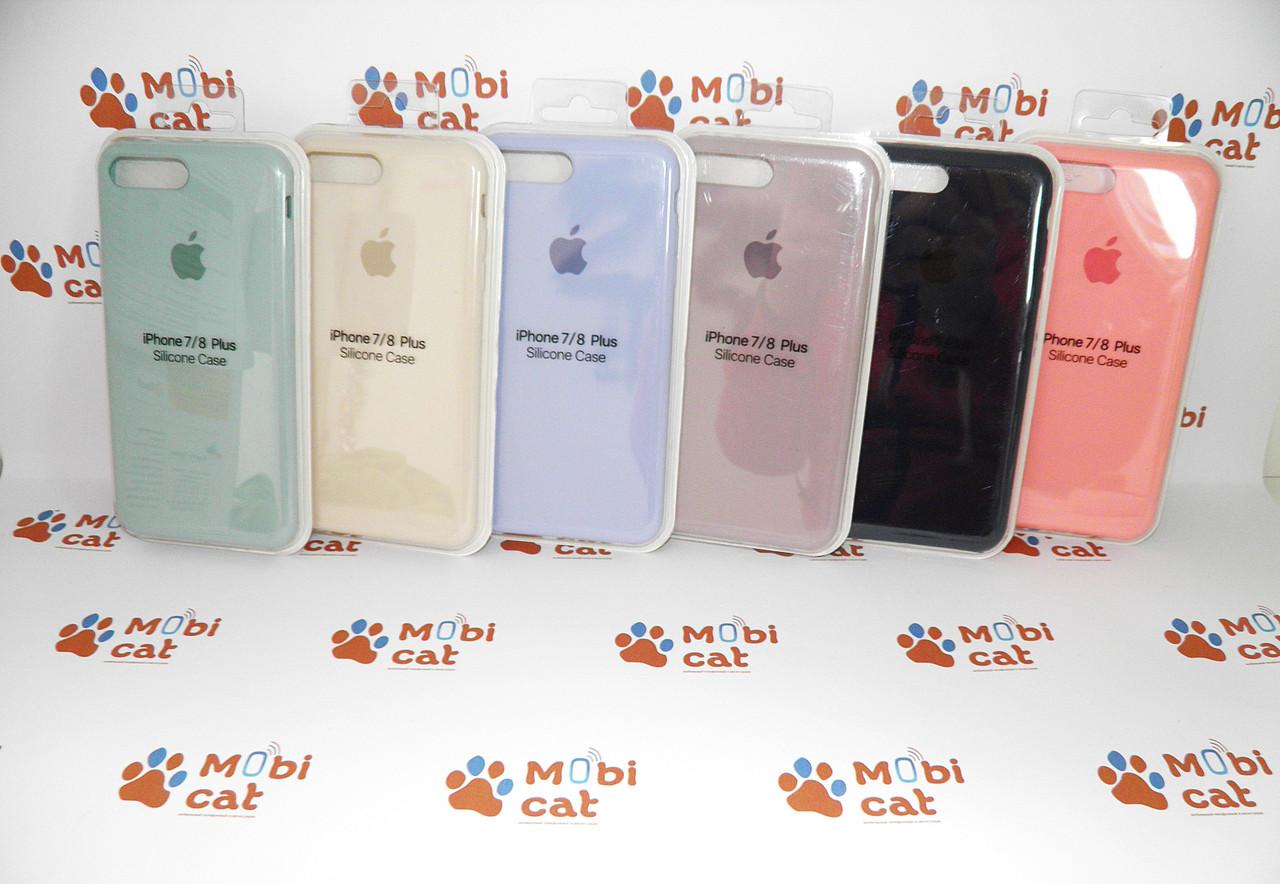Чехол Silicone original case для iPhone 7+/8+