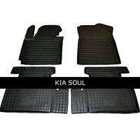 Коврики в салон Avto Gumm 11445 для KIA Soul 2014-
