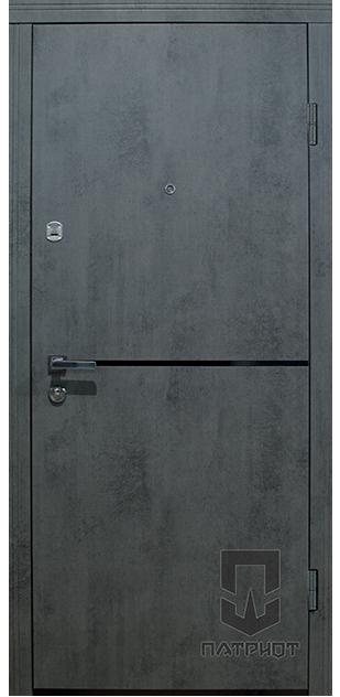 """Серия LS декор """"Lita black акрил черный"""" цвет бетон темный/ бетон пепельный"""