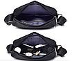 Мужская сумка барсетка DIEKE Черный, фото 7
