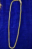Ювелирная цепь с напылением золота