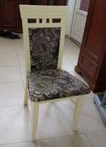 """Стул обеденный """"ЭССЕН"""" (орех, белый, ваниль,бежевый) для гостинной Fusion Furniture, фото 2"""