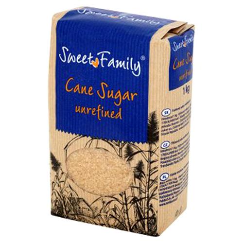 Тростинний цукор, Sweet Family, 1 кг