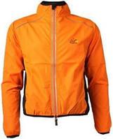 Велокуртка мужская Le Tour de France оранжевая (XXL)