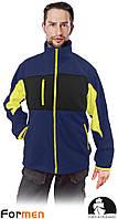 Флисовая кофта рабочая Leber&Hollman Польша (флисовая рабочая одежда) LH-FMN-P GBY