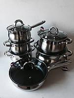 Набор (кастрюль) посуды (6шт.), арт. FRU-737